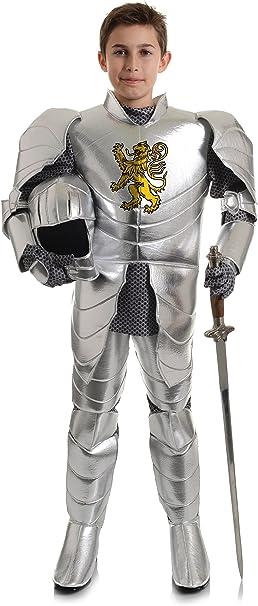 Amazon.com: Disfraz de caballero con escudo de león ...