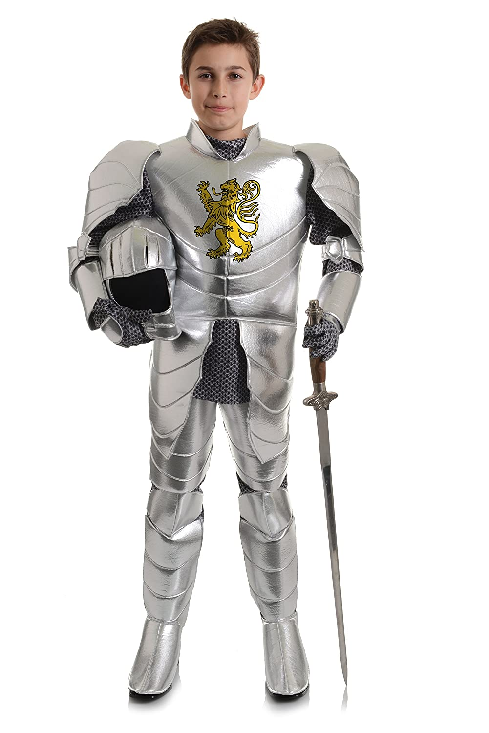Lion Crested Knight Kids Costume Underwraps 26226-P