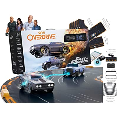Anki Overdrive Fast & Furious Limited Edition - Full Kit with Item Tacker (Retail Packing): Toys & Games