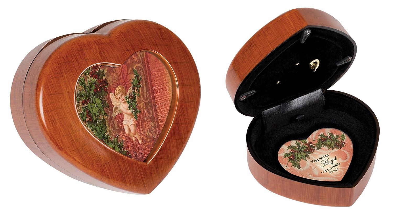 当季大流行 Treasured Memories Memories Treasured Woodgrain Cottage Garden Traditional Petite Heart to Music Box Plays Joy to the World B0090R6XCS, ミキシ:5e9260ba --- arcego.dominiotemporario.com
