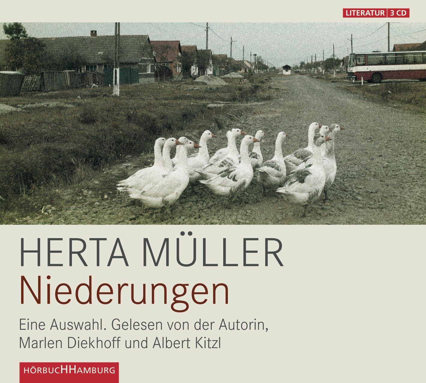 Niederungen: 3 CDs: Amazon.de: Herta Müller, Marlen Diekhoff, Albert ...