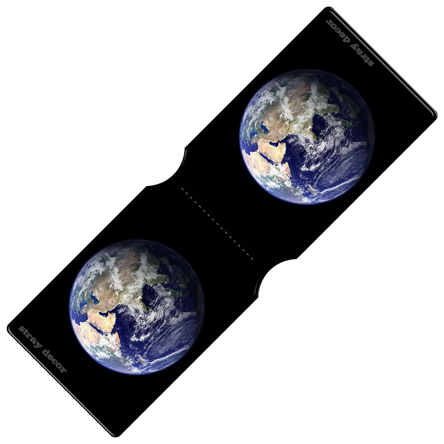 Stray Decor (Planet Earth) Bus Pass Wallet / Travel, Credit or Oyster Card Holder