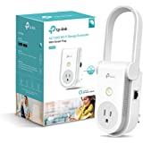 TP-link Smart Plug, Easy Setup, AC1200 Wi-Fi Range Extender/Repeater, Works with Amazon Alexa and Google Assistant, 2 in 1,Remote Control by Kasa app (RE370K)