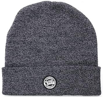 Fox Chunk Grey   Black Marl Beanie Winter Hat CPR760  Amazon.co.uk ... ec07a9bbd6ee