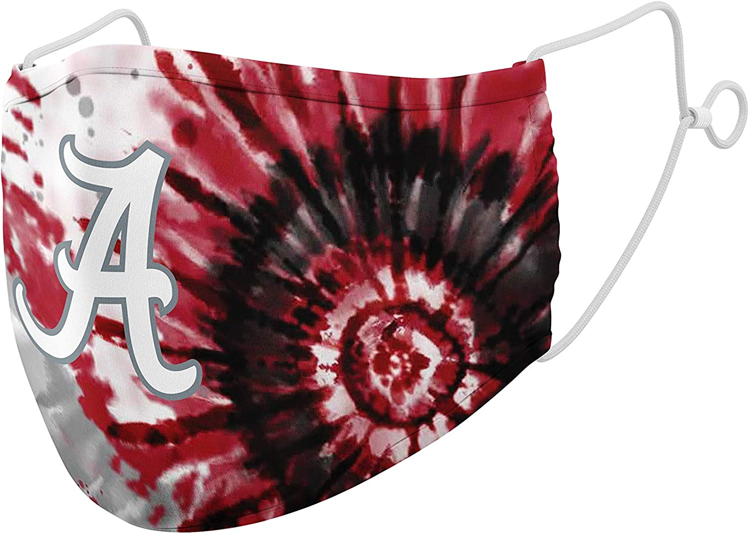 Top of the World NCAA Unisex Team Color Tie Dye Face Mask