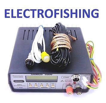 amazon com s1000 12v ultrasonic inverter electro fisher fish rh amazon com Electroshock Fish Equipment Smith-Root Shocker Backpack