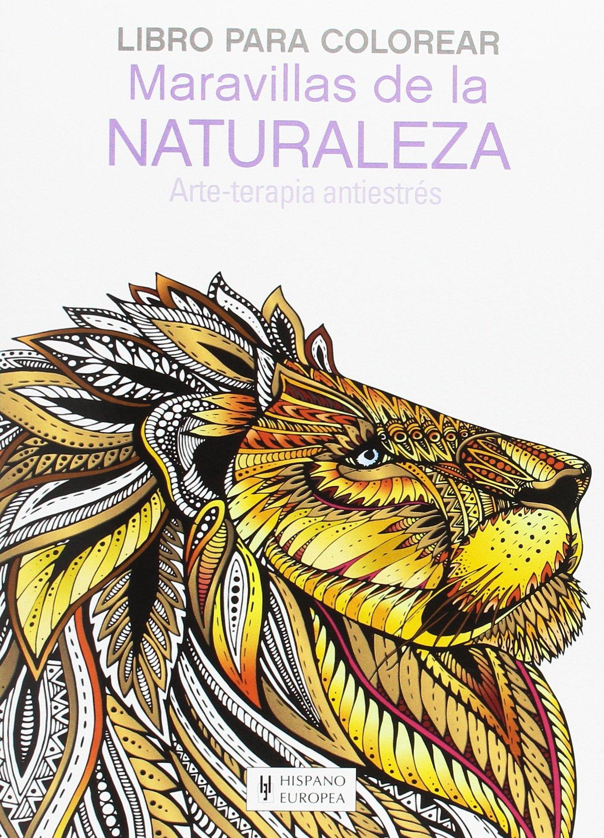 Maravillas de la Naturaleza (Libro para colorear): Amazon.es ...