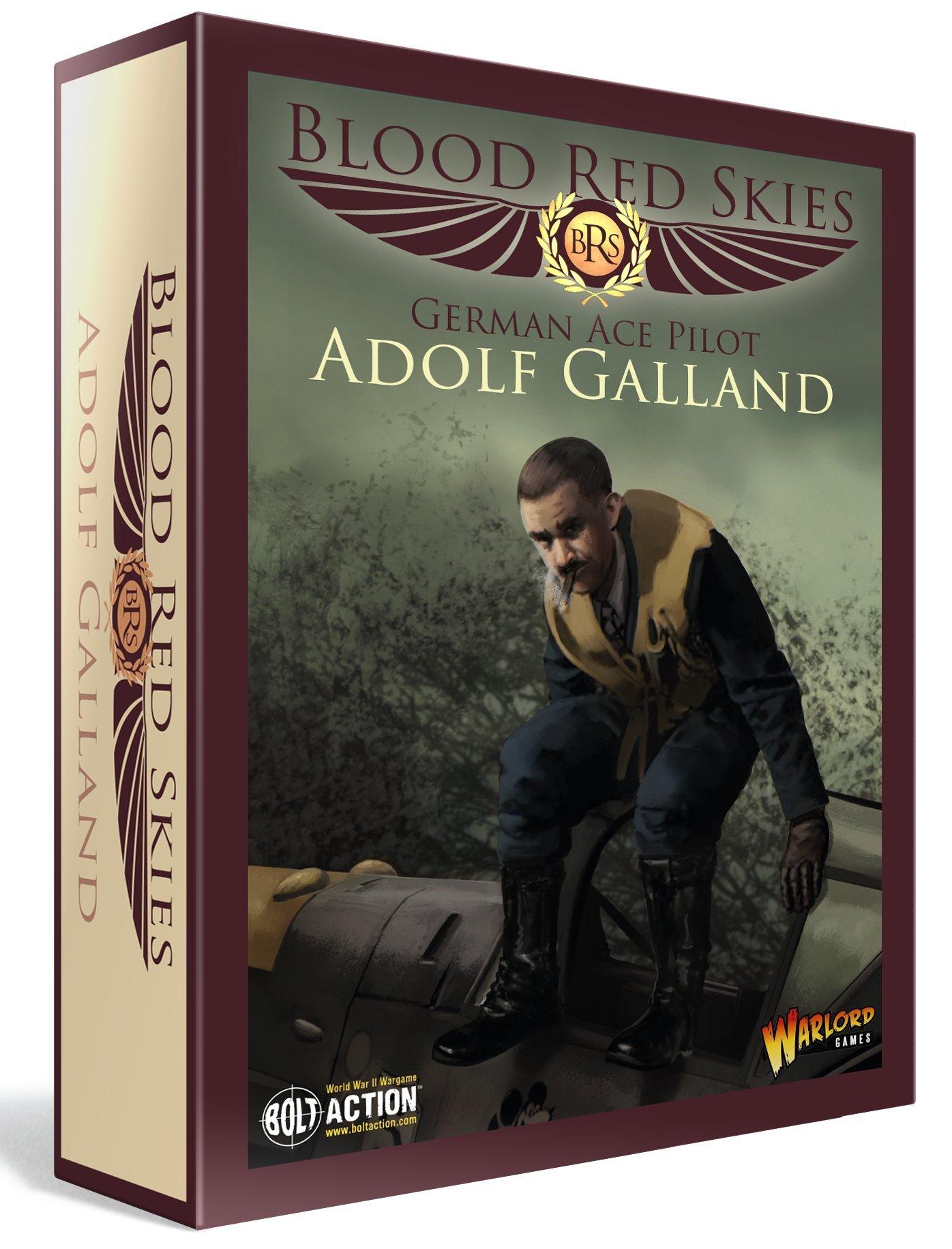 Warlord Games, Blood Red Skies - German Ace Pilot Adolf Galland set - Wargaming miniatures
