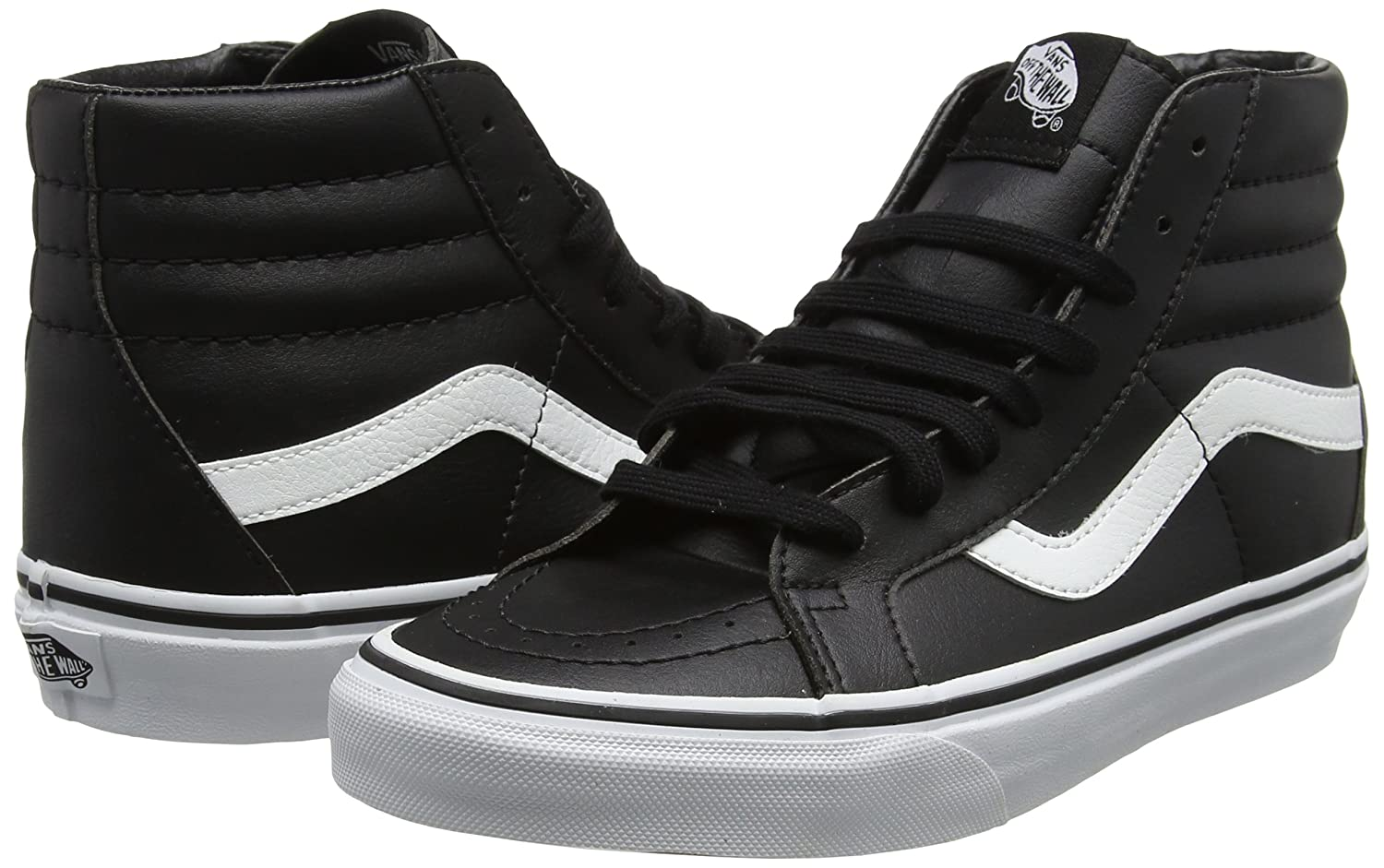188300695f18c6 ... VANS MENS SK8 HI REISSUE REISSUE REISSUE LEATHER SHOES B01MXW5XOI 7.5 D( M) US