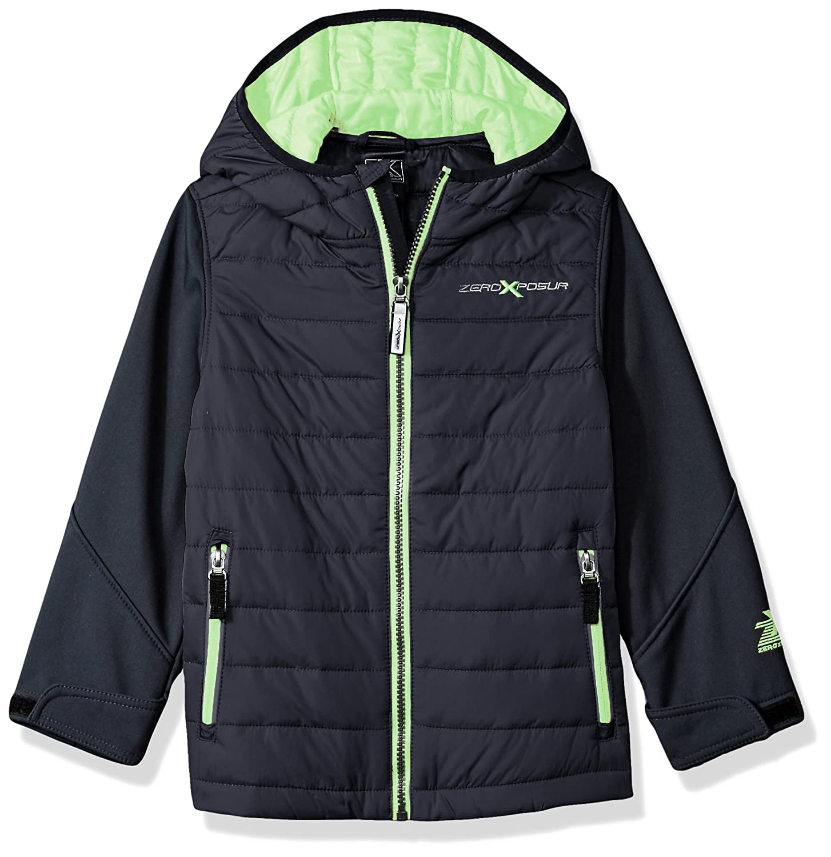 ZeroXposur Little Juvi Boys Agent Quilted Lightweight Jacket N41109