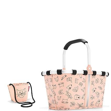 5bff19d2ea Reisenthel Kids einkaufs Set Set Carrybag XS Cestino per la spesa e piccola  borsa