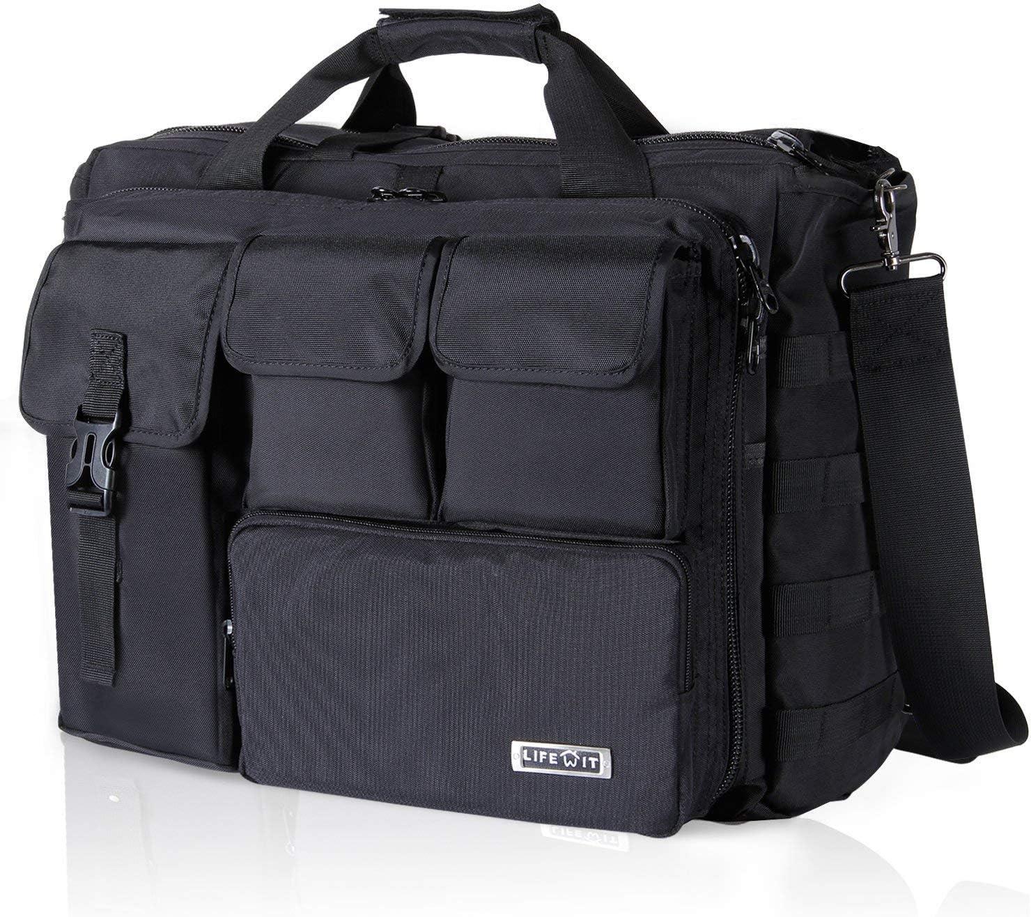 Fashion Expandable Shoulder Bag Laptop Net Book Computer Travel Case Business yw