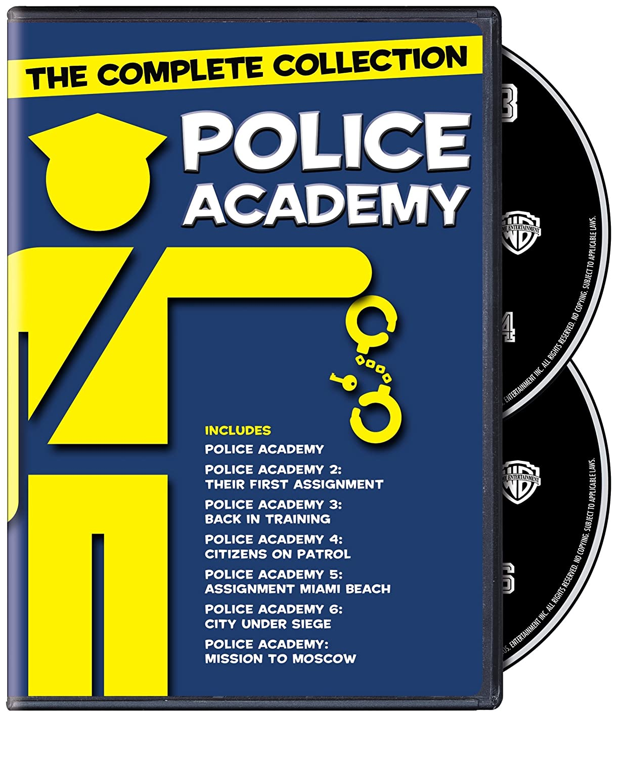 Amazon Com Police Academy 7 Film Collection Dvd Various Various Movies Tv