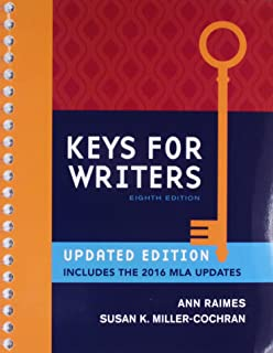 Keys for writers spiral bound version mindtap course list ann bundle keys for writers 8th lms integrated mindtap english 2 terms fandeluxe Gallery