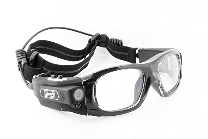 2114334225 Coleman G5HD-SPORT Vision HD Wearable Sports Safety Goggles with Built-In  Video Camera