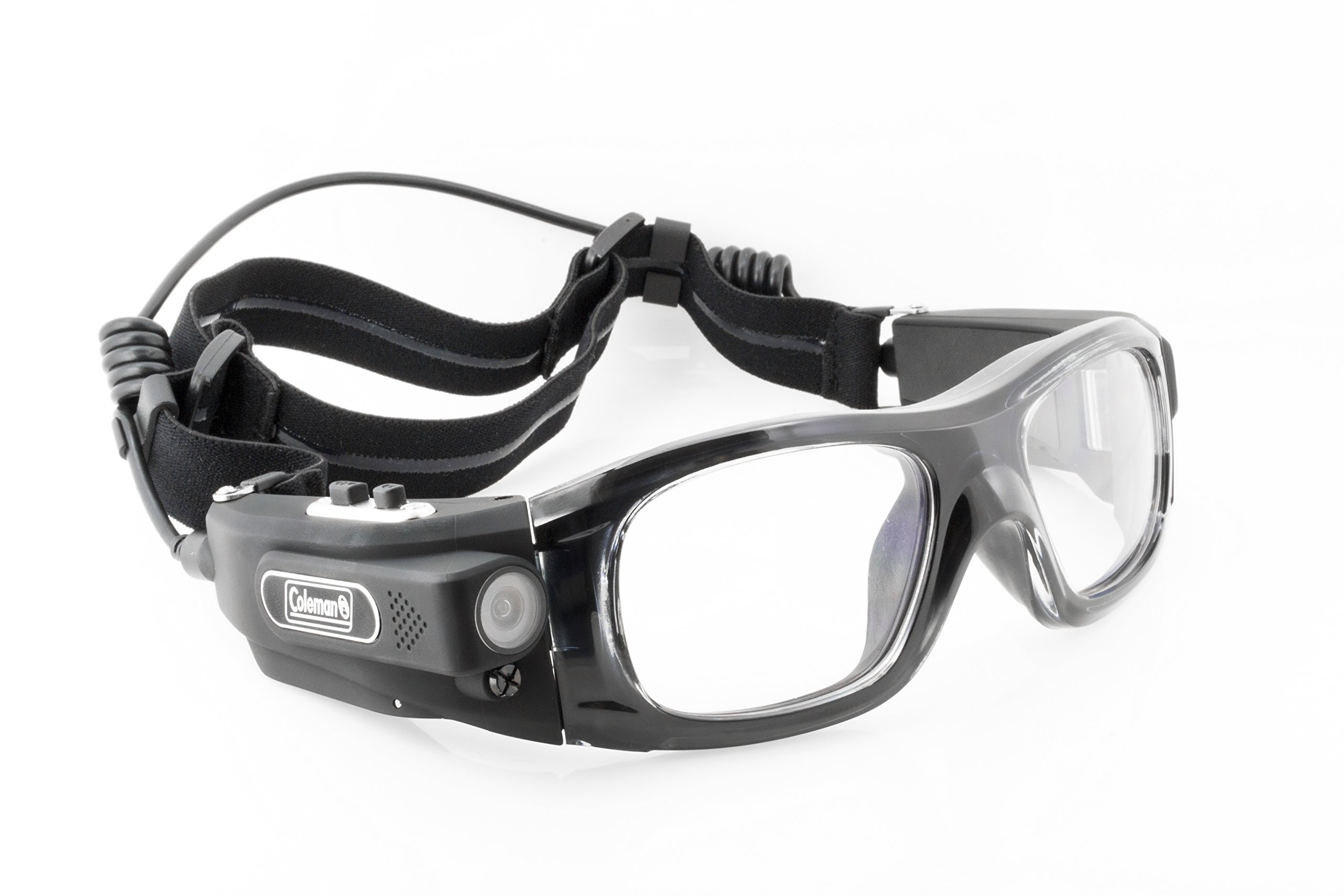 Coleman G5HD-SPORT Vision HD Wearable Sports Safety Goggles with Built-In Video Camera by Coleman