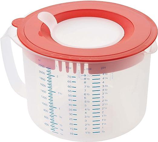 2,2 L Leifheit 3169 Measure and Store Vaso medidor 3 en 1