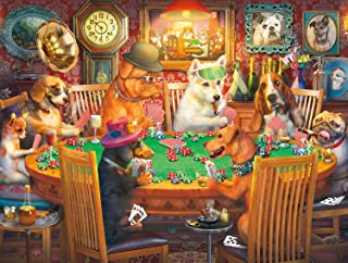 product image for Buffalo Games - Poker Pups - 750 Piece Jigsaw Puzzle