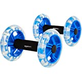 Amazon Basics Exercise Fitness Ab Rollers for Workouts - 2-Pack