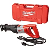 Milwaukee 6519-31 12 Amp Corded 3000 Strokes Per Minute Reciprocating Sawzall w/ Variable Speed Trigger