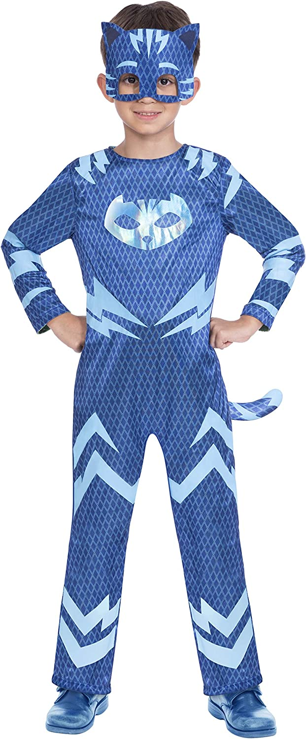 Amscan Dress Up- Reversible Catboy/Gekko Disfraz, Color blue and ...