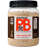 PBfit All-Natural Chocolate Peanut Butter Powder, Powdered Peanut Spread from Real...