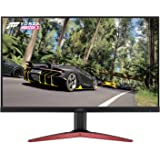 Acer Gaming Monitor 27 Inches KG271 Cbmidpx 1920 x 1080 144Hz Refresh Rate AMD FREESYNC Technology (Display Port, HDMI…