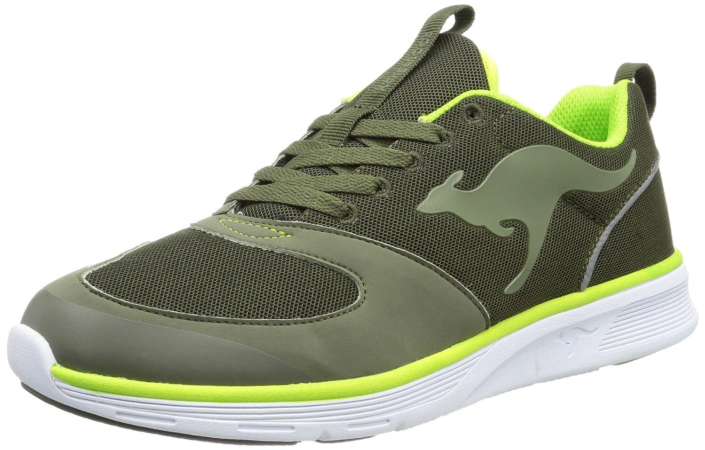 Kangaroos Superb - Zapatillas de Deporte de tela hombre 44 EU|Verde - Vert (880 Olive Lime)