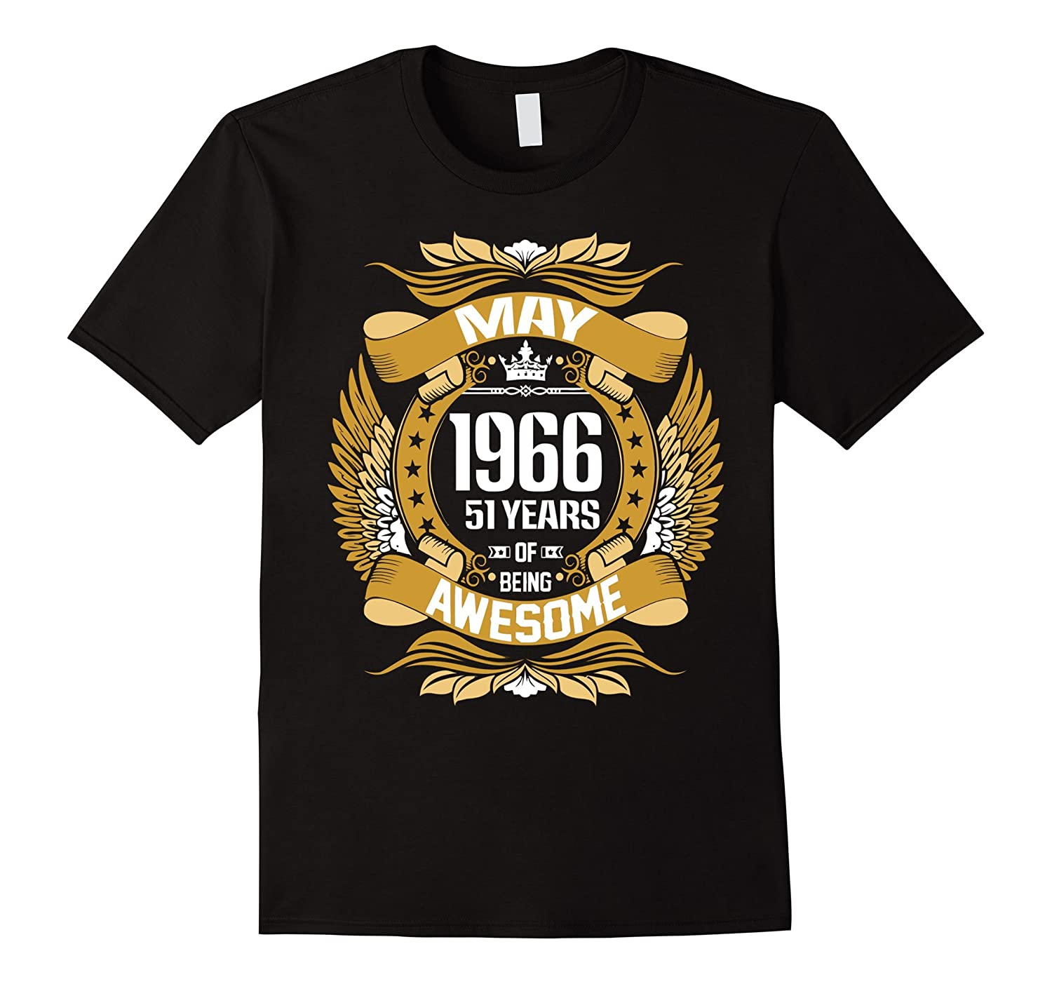 May 1966 51 years of being awesome t shirt-CD