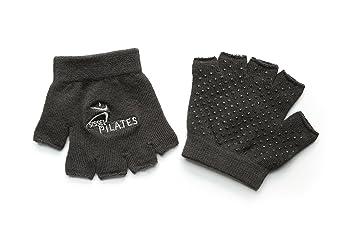 Sissel - Guantes de pilates para adulto (talla única), color negro: Amazon.es: Deportes y aire libre