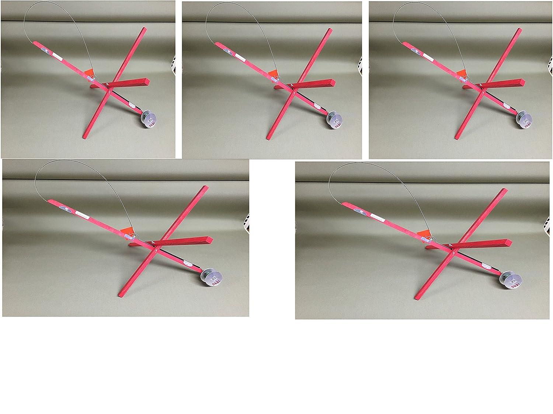 氷釣りtip-ups 5パックhi-flag
