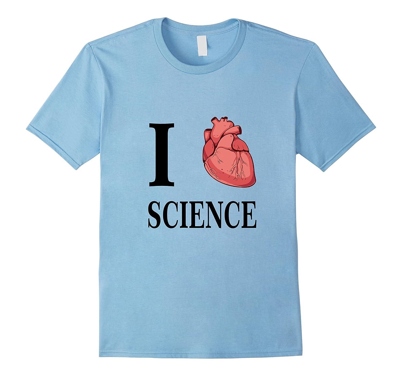 I Heart Science Love Biology Anatomy Tee Shirt T-Shirt-Art – Artvinatee