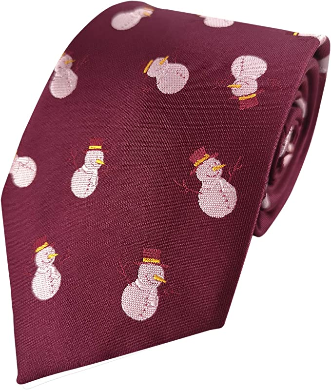 KOOELLE - Corbata de Navidad para hombre, diseño de jacquard ...