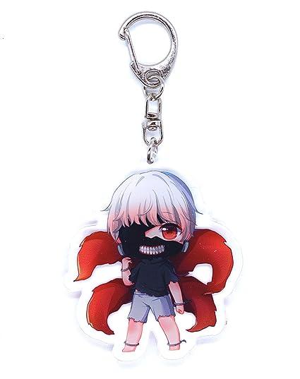 Anime Domain Llavero de Tokyo Ghoul con Figura Chibi (Ken ...