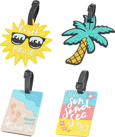 OVOV Unique Summer Beach Series Luggage Tag
