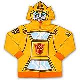 Hasbro Transformers Boy's Optimus Prime or Bumble Bee Hooded Zipper Jacket