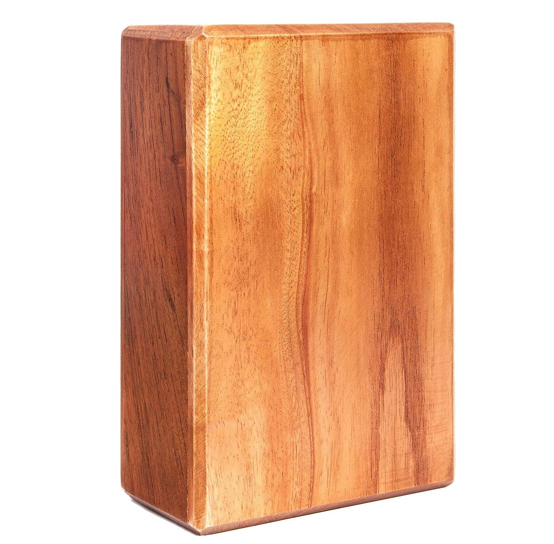 DoYourYoga Bloque de Yoga de Madera »Bhavani«, bambú Natural ...