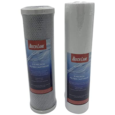 Beech Lane External RV Dual Water Replacement Filters - 2 Pack: Automotive