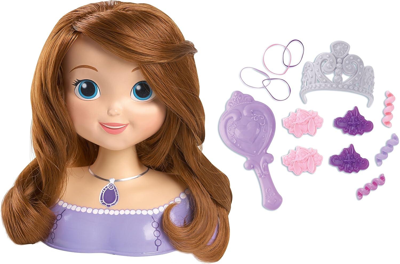 Busto peinados princesa sofia