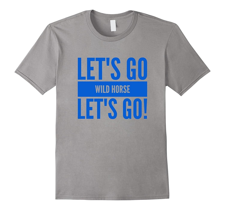 Let's Go, Dodger Fan, Chant, Baseball, Wildhorse Tshirt-FL