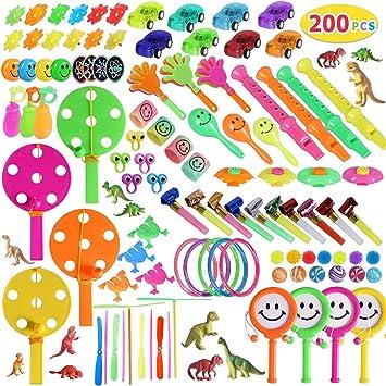 Amazon.com: Max Fun 200 piezas al azar surtido de juguetes ...