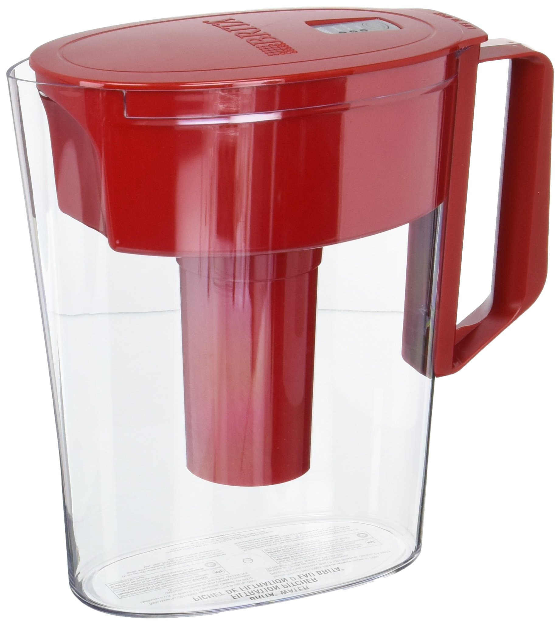 Clorox Sales CO BRITA DIV 212627 36090 Brita Red Soho Pitcher