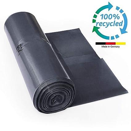 ProfessionalTree Bolsas de basura 120 l - gran resistencia al desgarro - rollo de 25 - Tipo 100 extra - Sacos de basura XXL bolsas de basura - 70 µ - ...