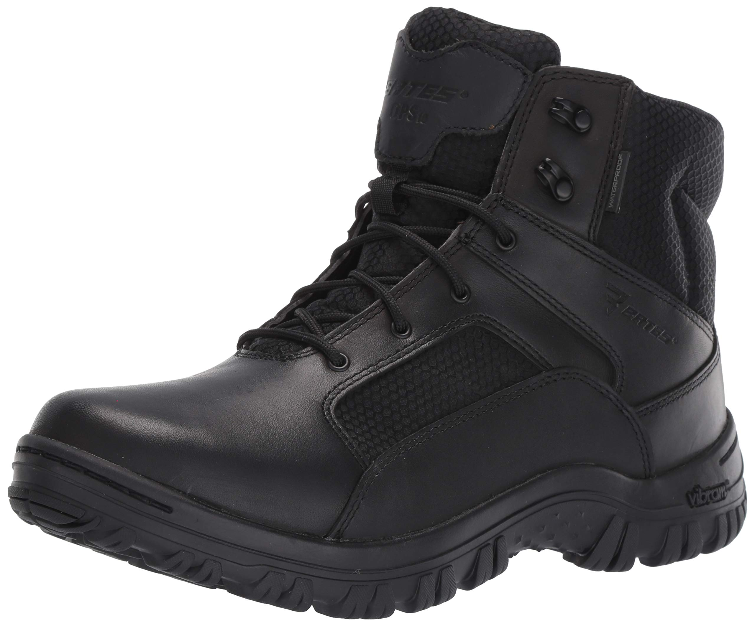 Bates Men's Maneuver Mid Waterproof Fire and Safety Boot, Black, 10.5 Extra Wide US by Bates