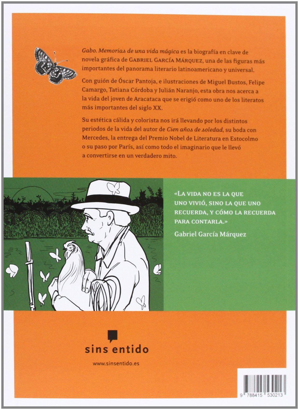 Gabo. Memorias De Una Vida Mágica: Amazon.es: Vv.Aa.: Libros