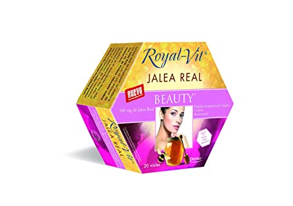Royal-Vit - Jalea Real Beauty de 20 Viales de 10 ml de Dietisa -