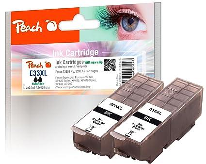 Peach 319666 24ml 650páginas Negro cartucho de tinta - Cartucho de ...