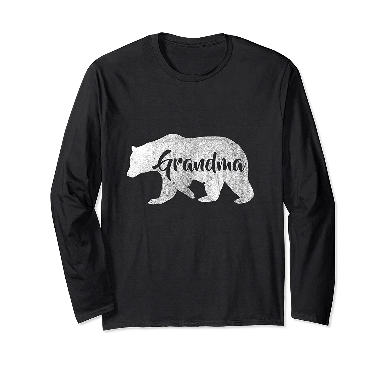 8f3a5ad0 Womens Grandma Bear Long Sleeve Camping T-Shirt-alottee gift
