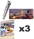 Official Blizzard Overwatch Mini Posters Blind Box Lot of 3 Mystery Packs