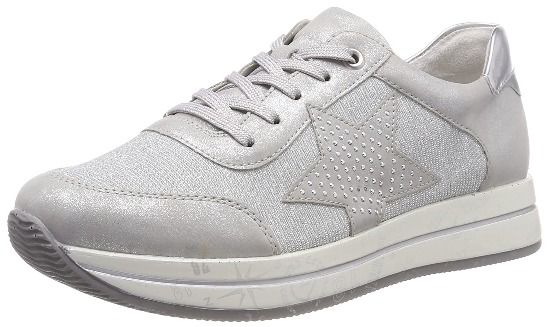 Remonte D2500, Zapatillas para Mujer 44 EU|Plateado (Silber/Silber/Argento)